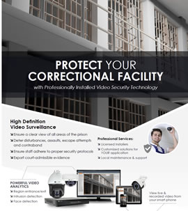 Correctional Facility Security Solutions